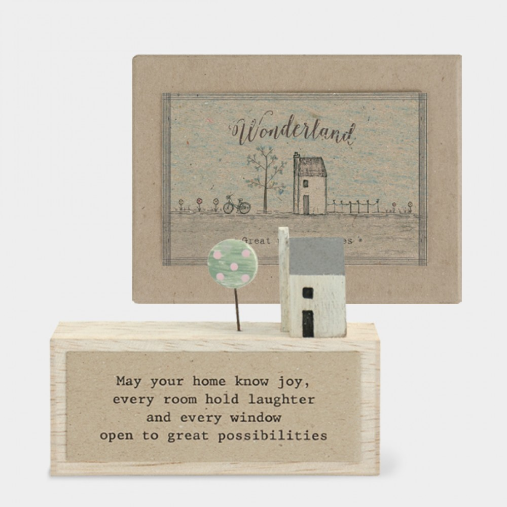 Wonderland plaque -May your home