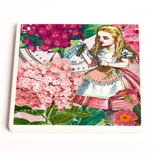 Alice - Ceramic Coaster