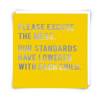 Card- Excuse mess- Standards
