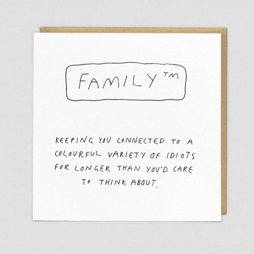 Family - Funny Greeting Card
