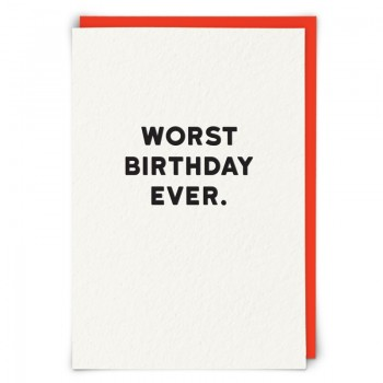 Birthday card - You've aged