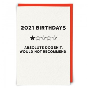 2021 Birthday Card
