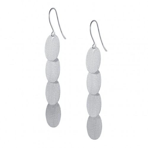 Confetti Silver Earrings