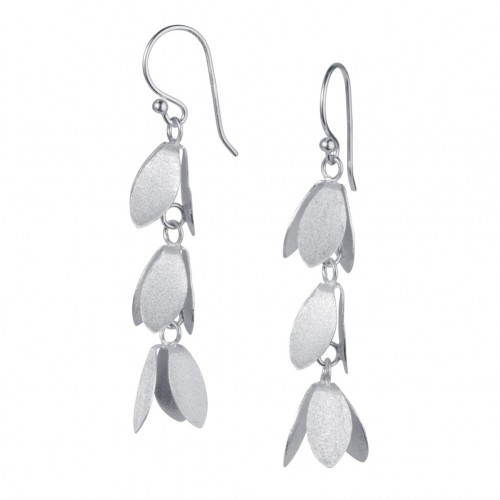 Catkin Silver Earrings