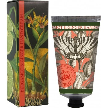 Kew Gardens Bergamot And Ginger Hand Cream (75ml)