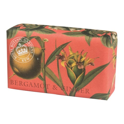 Kew Gardens Soap, Bergamot and Ginger 200gm