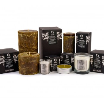Dark Wood Scented Candles