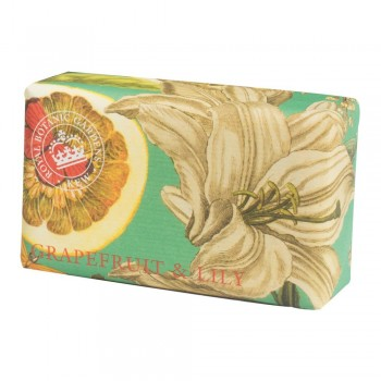 Kew Gardens Soap, Grapefruit and Lily 200gm
