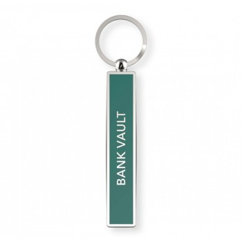 Bank Vault - Satirical Metal Keyring