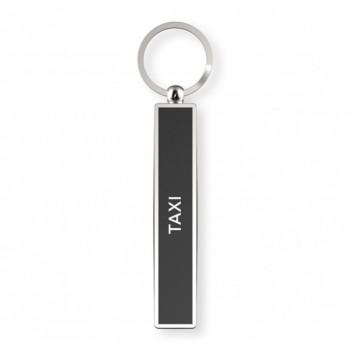 Taxi - Satirical Metal Keyring