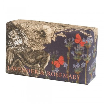 Kew Gardens Soap, Lavender and Rosemary 200gm
