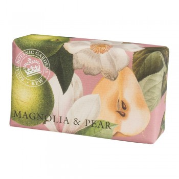 Kew Gardens Soap, Magnolia and Pear 200gm