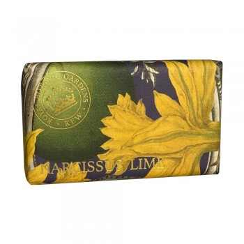 Kew Gardens Soap, Narcissus Lime 200gm